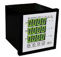 Щитовий цифровий багатофункціональний мережний вимірювач ЦИС0307 з RS485 Мегомметр