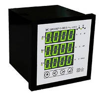 Щитовий цифровий багатофункціональний мережний вимірювач ЦИС0307 Мегомметр