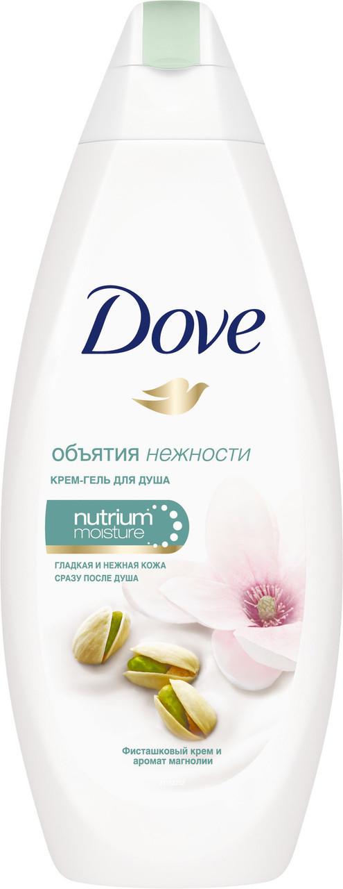 Dove крем-гель для душа Фисташковый крем и Магнолия 250 мл