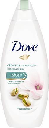 Dove крем-гель для душа Фисташковый крем и Магнолия 250 мл, фото 2