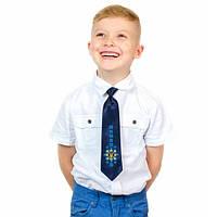 """Детский галстук """"Малай"""" с вышивкой"""