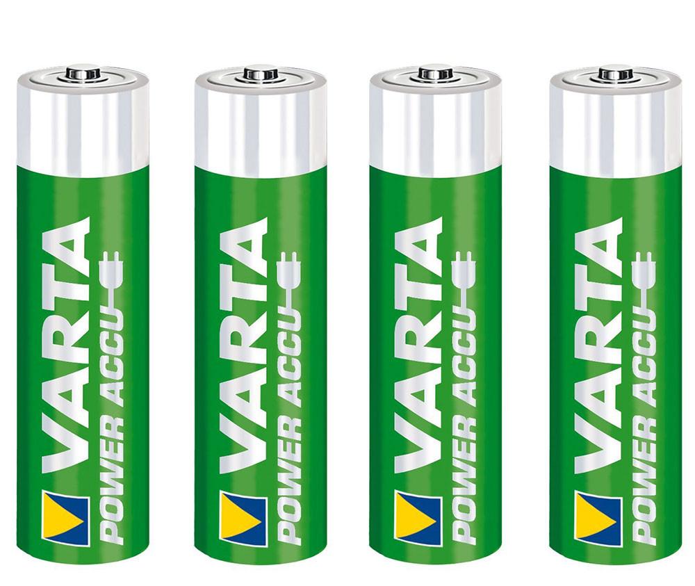 4шт Аккумуляторы в кейсе Varta AA 2500 Ready 2 Use