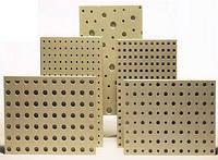 Перфорированные плиты гипсовые звукопоглощающие ППГЗ, Кнауф Акустика, круглая перфорация, 1 лист 2.374м2