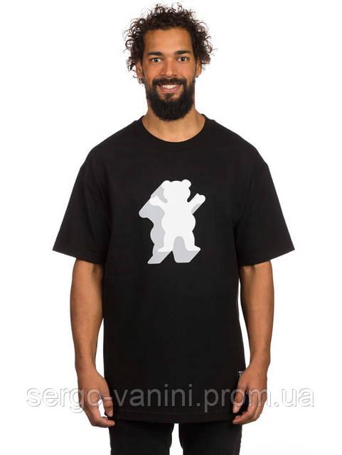 Футболка мужская с принтом Grizzly Griptape Shade OG Bear