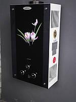 Газовая колонка DION JSD 10 дисплей, стекло, лилия