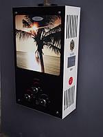 Газовая колонка DION JSD 10 дисплей, стекло, пальма