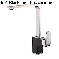 AquaSanita Signa 2083 однорычажный кухонный смеситель хром / черный