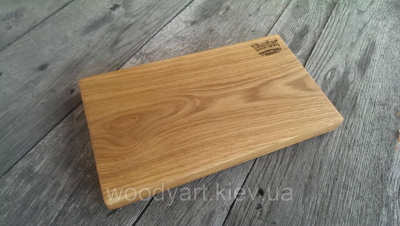 Доска сервировочная из дерева №1, 30 * 20 см.
