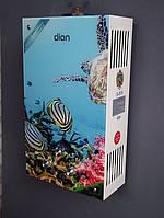 Газовая колонка DION JSD 10 дисплей, стекло, черепаха