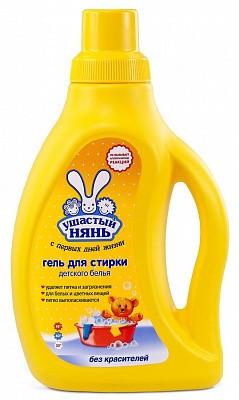 """Жидкое средство для стирки детского белья """"Ушастый нянь"""" 750 мл"""