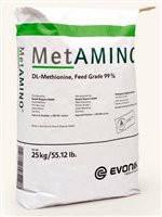 Метионин α-аминокислота кормовая 99% MetAmino