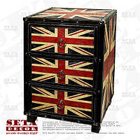 Комод UK Style (Union Jack) с 3 ящиками