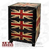 Комод UK Style (Union Jack) с 3 ящиками