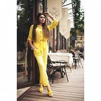 Комбез женский летний Яркий желтый,магазин одежды