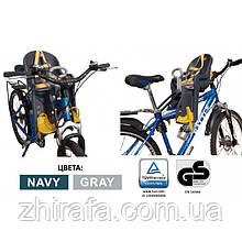 Детское Велокресло Tilly BT-BCS-0006 (до 15 кг)