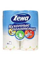 Кухонные полотенца Zewa Deluxe 2 слоя, 2 рулона 11м/50 листов (22х23см)