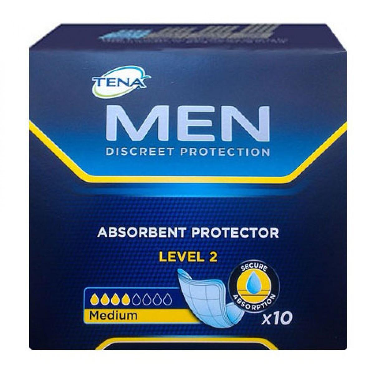 Прокладки урологические для мужчин TENA Men 2 10 шт.