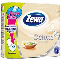 Туалетная бумага Zewa Deluxe Aroma Spa Шампань 4 рулона 21м/150 листов 3 слоя