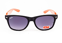 Очки Ray Ban Wayfarer Grey-Black-Orange 6918