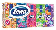 Носовые платки Zewa Стайл 3 слоя, 10*10 (21х21см)