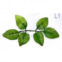 Лист розы маленький 350 шт/уп Искусственные цветы