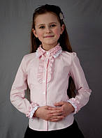 Блузка  школьная красивая мод.2010