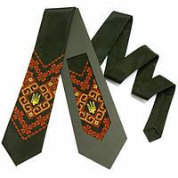 """Вишиту краватку з тризубом """"Надий"""", фото 1"""
