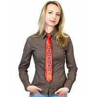 """Узкий галстук с вышивкой """"Ружа"""""""