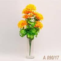 Букет астры и иксии (7 шт./ уп.) Искусственные цветы