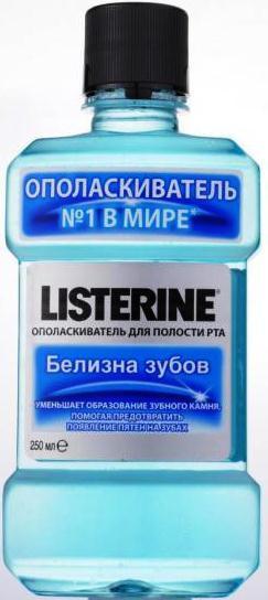 """Ополаскиватель для ротовой полости Listerine """"белизна зубов"""" 250 мл"""