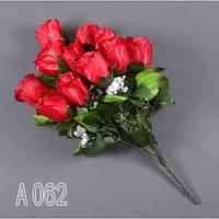 Роза А-062/12 (12 шт./ уп.) Искусственные цветы