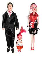 Набор кукол Семья типа Барби