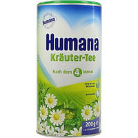 Растворимый чай HUMANA Травяной сбор с ромашкой /Humana Krauter-Tee 200 гр. с 4-х месяцев