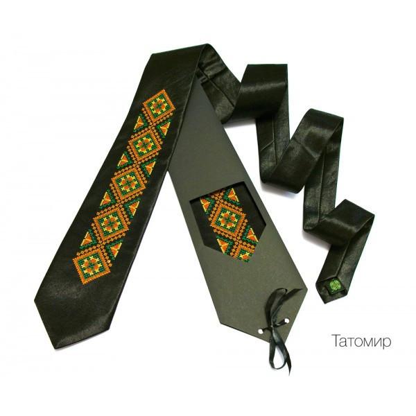 "Краватка з вишивкою ""Татомир"""