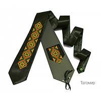 "Краватка з вишивкою ""Татомир"", фото 1"