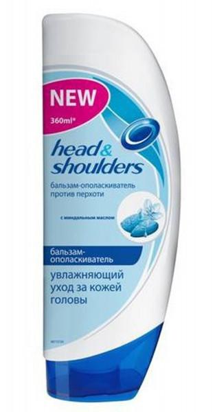 Бальзам-ополаскиватель для ухода за кожей головы Head & Shoulders Увлажняющий уход 360 мл