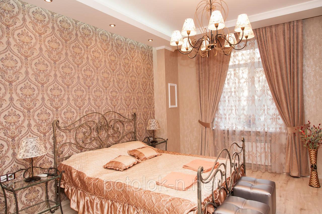 Поклейка обоев - MdeGLAMOUR - Натяжные потолки в Днепропетровске в Днепре