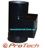 Переходник для дымохода твердотопливного котла с сажетруской ProTech TT диаметр 150 мм, размер 210*100 мм