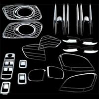 Набор декоративных накладок BENZ ML W163' (04-05) (U.S.A. TYPE) (21 ед)