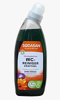 Органический очищающий гель SODASAN для туалета 0,75 л