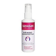 Органическое средство для рук SODASAN антибактериальное 100 мл