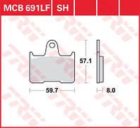 Тормозные колодки для мотоциклов и снегоходов TRW / Lucas MCB691