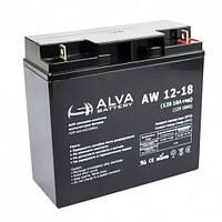 Аккумуляторная батарея alva aw12-18