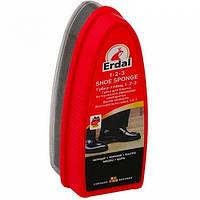 ERDAL Губка для блеска обуви черная
