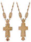 Крест наперсный №09
