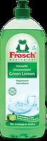 FROSCH Жидкость для мытья посуды Зеленый Лимон 1л