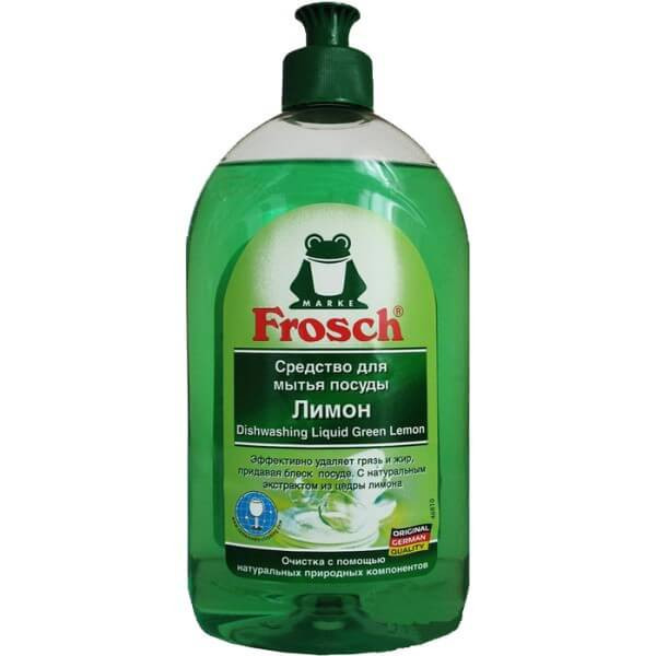 FROSCH Бальзам для мытья посуды Лимон 500 мл