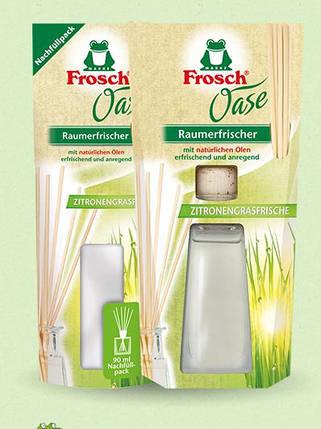 """FROSCH Освежитель воздуха Оазис с натуральным маслом """"Лимонная трава"""" 90 мл, фото 2"""