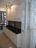 Кухня в классическом стиле «Венеция» с рамочным МДФ  фасадом, белого цвета