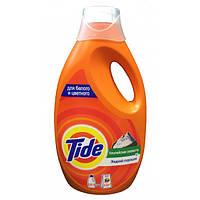Жидкий стиральный порошок TIDE Альпийская свежесть 1.105 л